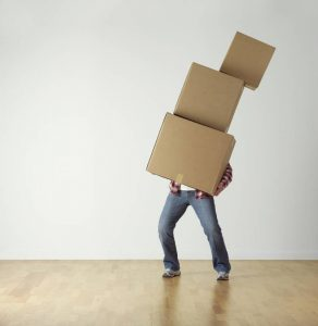 Choose variable size of boxes when long distance moving