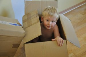 Children should be protected when long distance moving