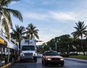 Street in Miami