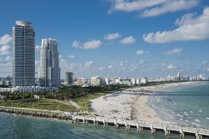 Miami Beach is one of the best places to buy a house in Florida.