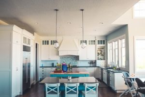 Kitchen in big house