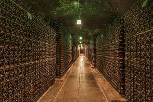 Wine in storage unit