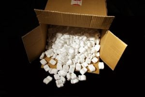 How to pack household appliances - make use of packing peanuts
