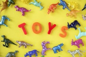 Use toys to keep children occupied on moving day