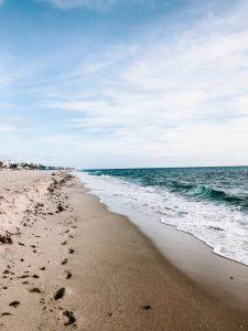 a beach in Miami