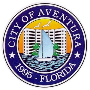The official seal of City of Aventura, Florida