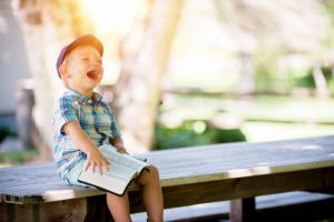 A happy child