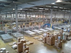 Large on-demand warehouse space