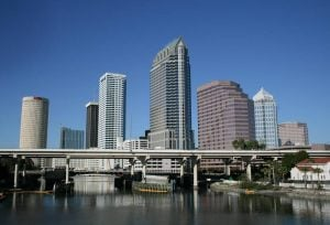 The city of Tampa, FL.