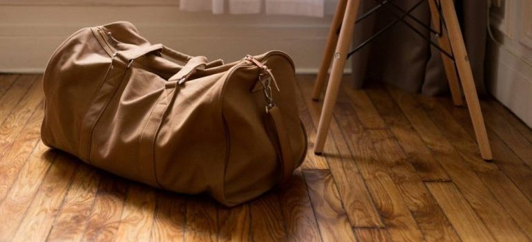 packing your essentials for relocation- a bag