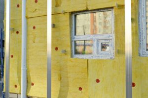 insulated wall and window