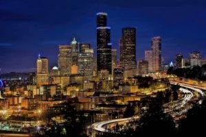 Seattle as an answer to Where do young professionals move to question