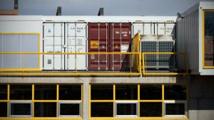 assorted shipping containers