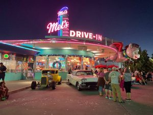 a drive-in restaurant