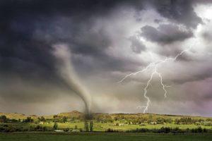 lightning and tornado