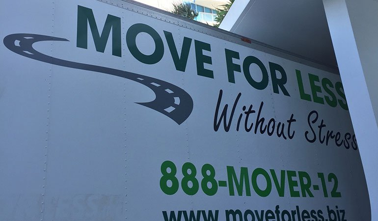 Miami movers truck.