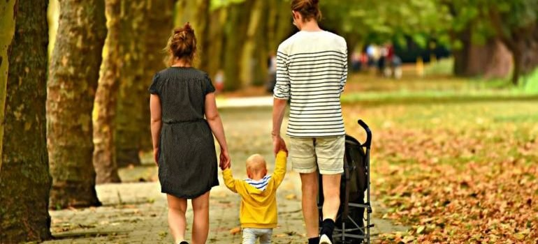 A family stroll you can enjoy after you move to Boca Raton