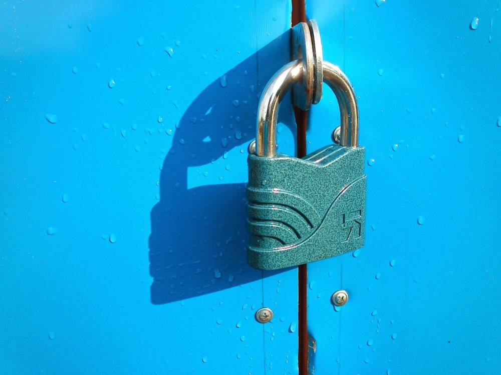 image of a lock