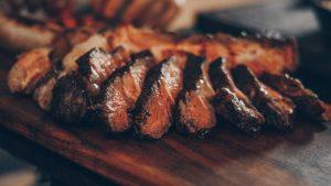A nice-looking steak