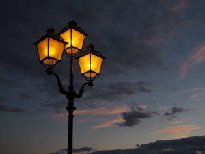 nice looking street light poles