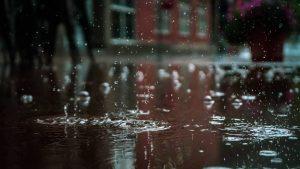 serious rainfall