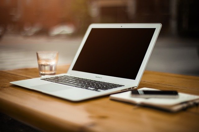 a laptop - protect your items from the heat when moving