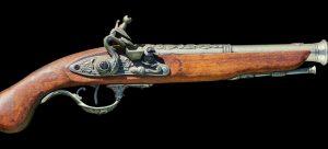 an old gun
