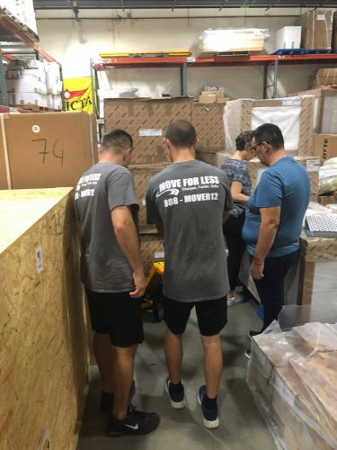 Our commercial movers Miami can set up everything.