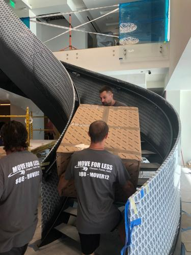 We handle moving and packing needs with utmost care.
