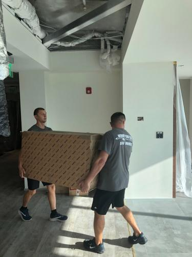 Our Miami local moving crew is always here to help you.