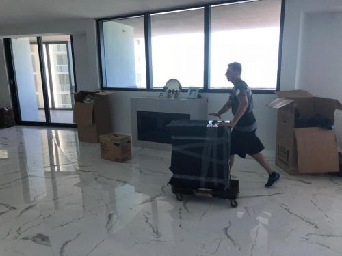 We offer maximum protection for your furniture during the move to/from Sunny Isles Beach, FL.